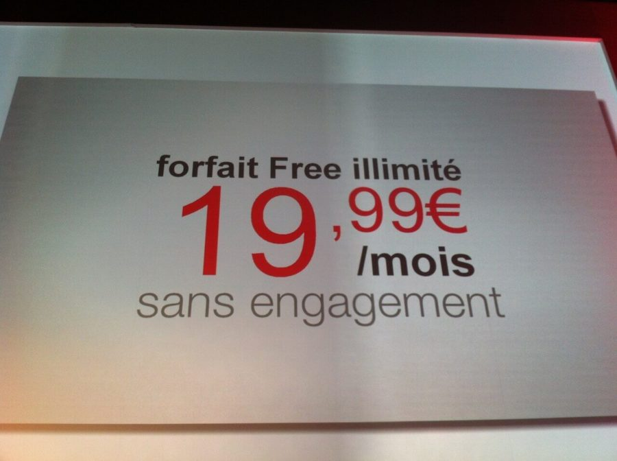 Lancio Free Mobile in Francia
