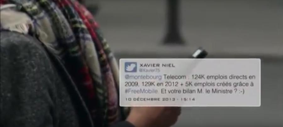 Tweet Niel-Montebourg