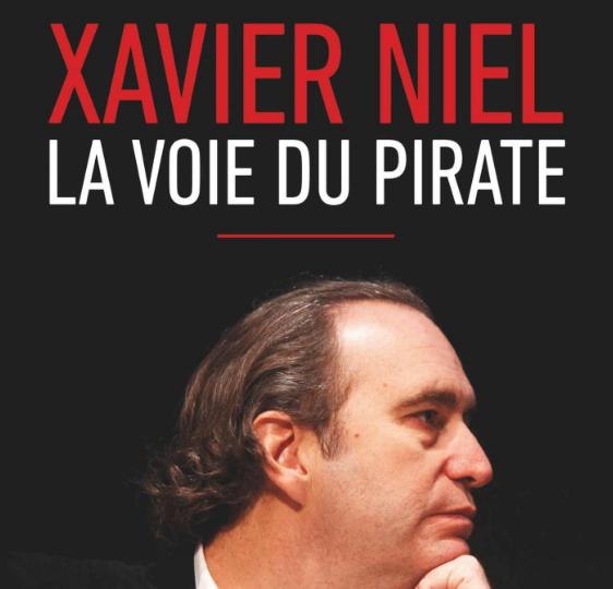 "Libro ""Xavier Niel, la voie du pirate"""
