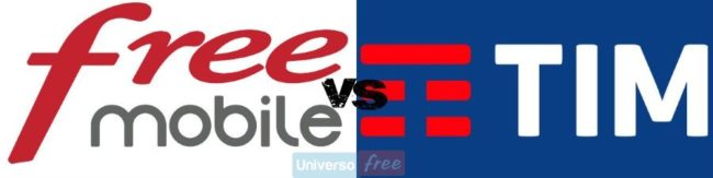 Free Mobile vs TIM