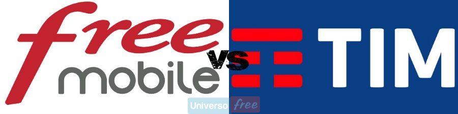 Free Mobile vs TIM