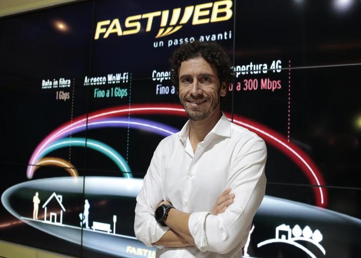 Alberto Calcagno AD Fastweb