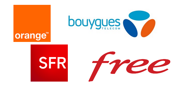 Orange Bouygues SFR Free
