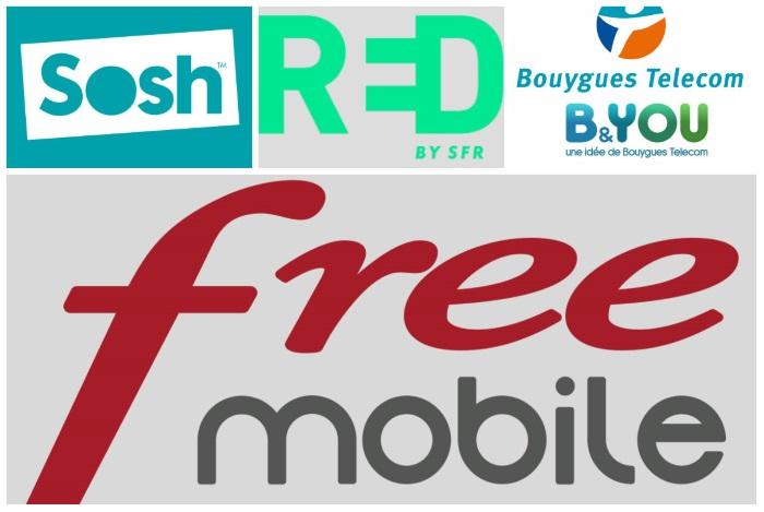 Free Mobile Sosh Red B&You