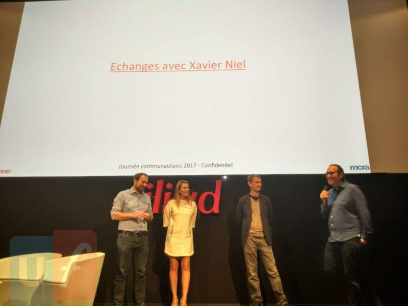 Xavier Niel convention Free 2017