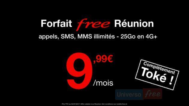 Tariffe Free Mobile La Réunion