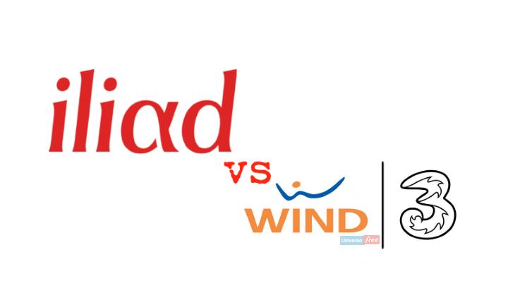 Iliad Wind Tre
