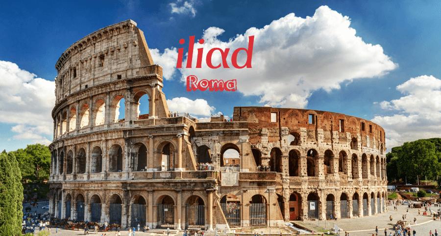 Copertura Iliad Roma