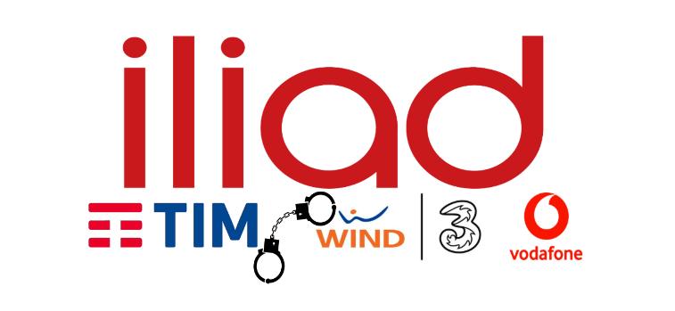 Iliad TIM Vodafone Wind Tre