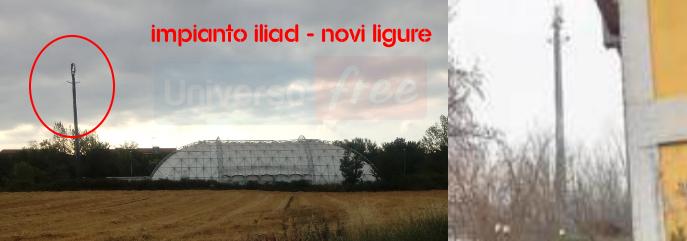Nuovo impianto Iliad Novi Ligure