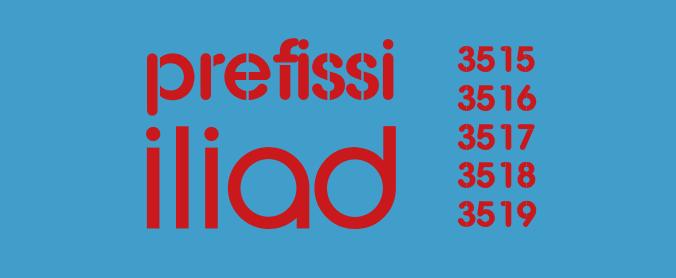 Prefissi Iliad