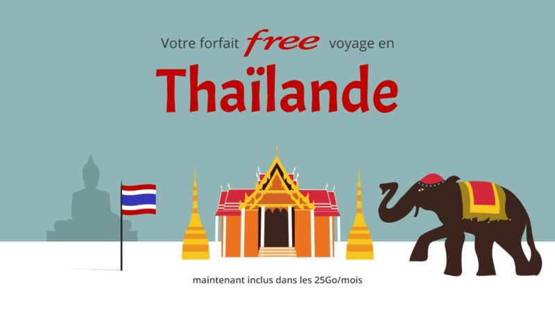 Roaming Tailandia Free Mobile