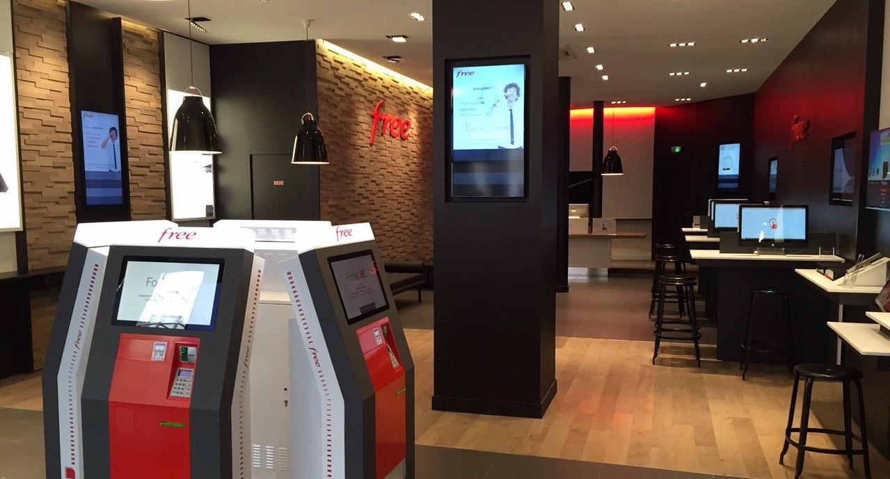 Store Free e distributori automatici SIM