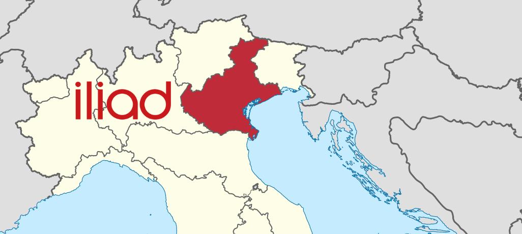 Rete Iliad Veneto