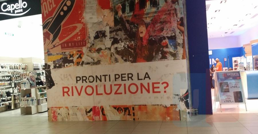 Negozio Iliad centro commerciale Porta di Roma