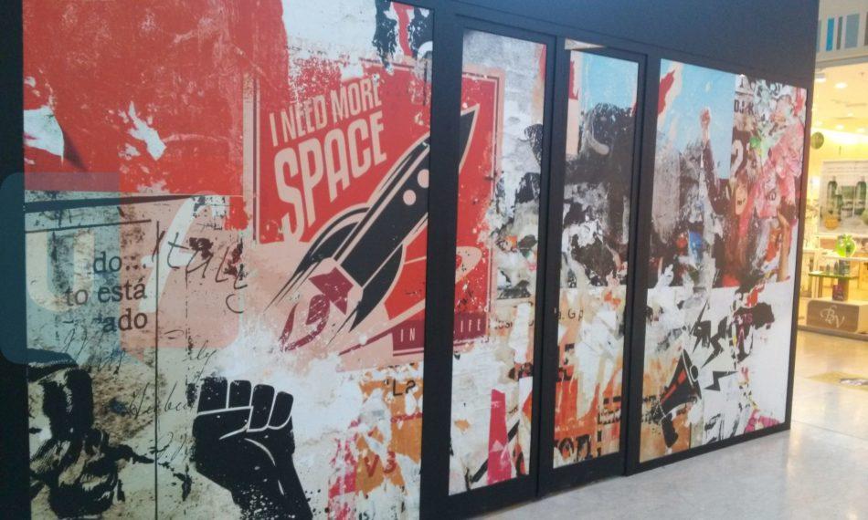 Stand Iliad Auchan Porte di Catania