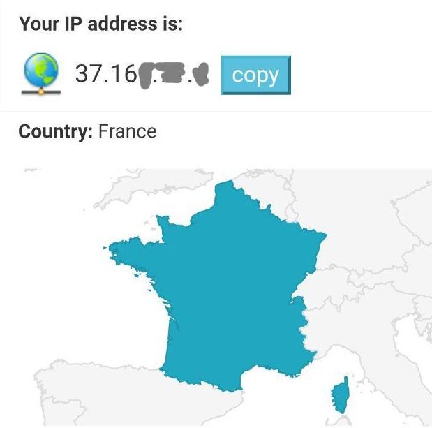 IP francese utenze Iliad