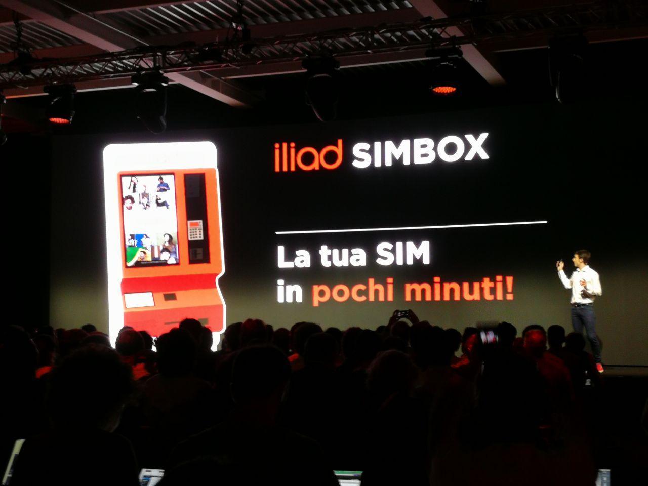 iliad simbox