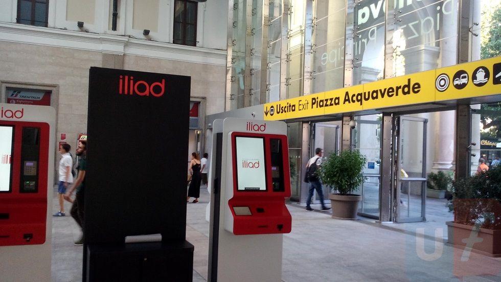 Simbox Iliad Genova Piazza Principe