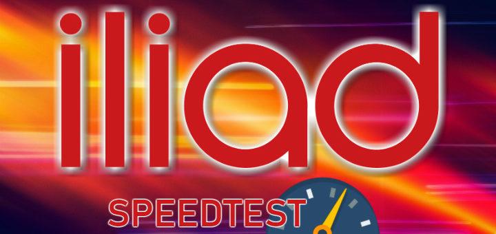 iliad speedtest italia