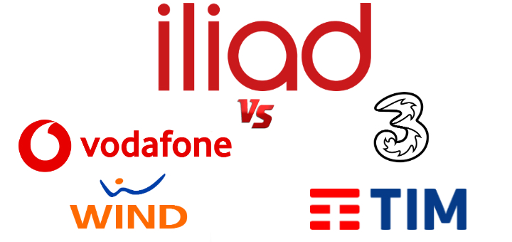 iliad vs vodafone tre wind tim