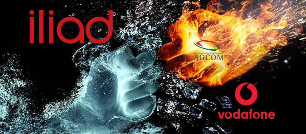 MNP Vodafone Iliad AGCOM