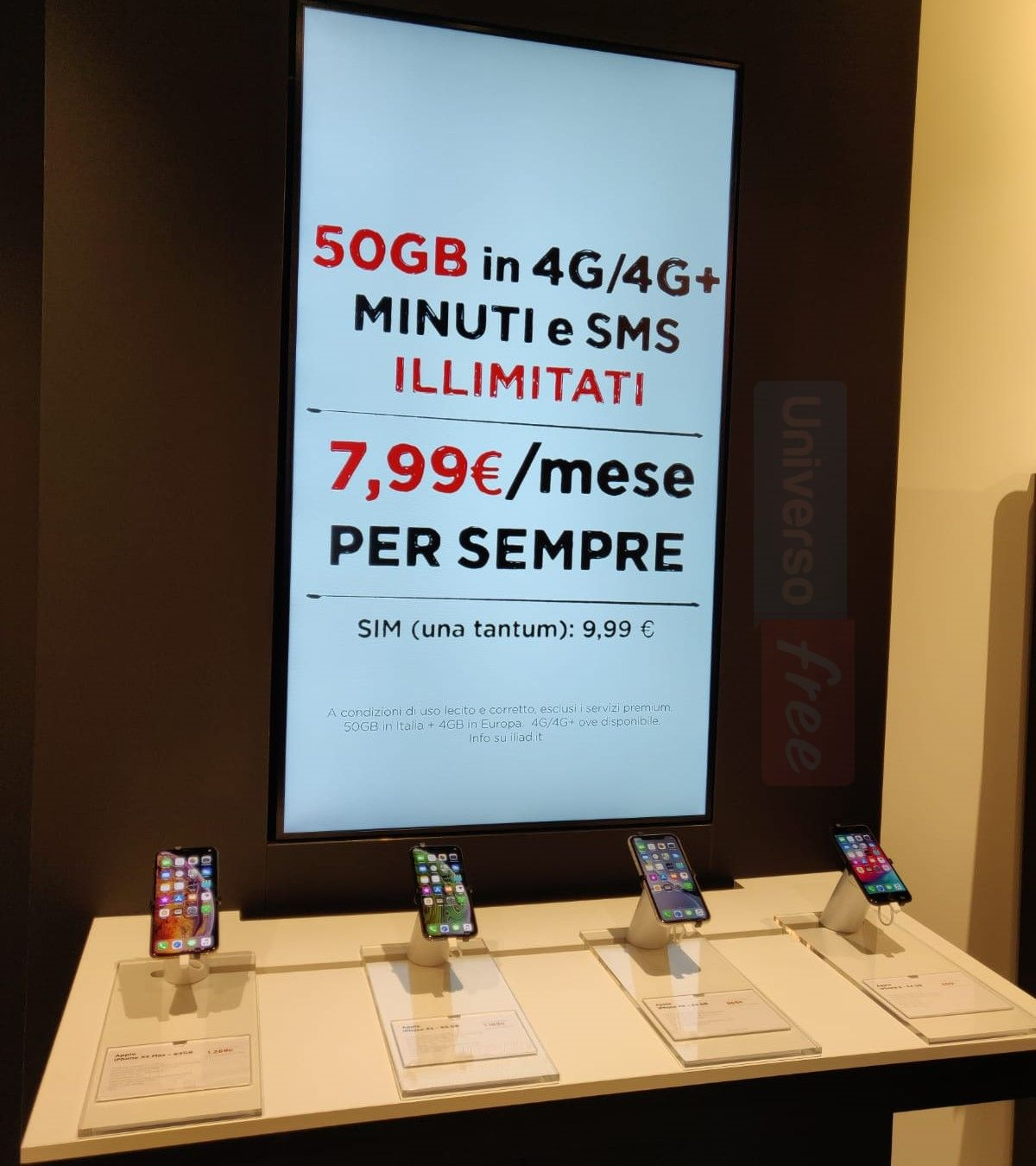 iPhone iliad store Milano