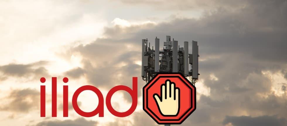 Divieto antenna rete mobile
