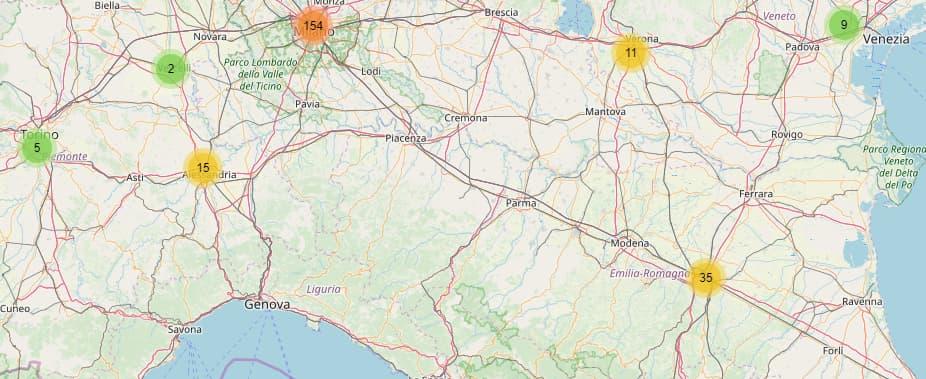 iliad nord Italia