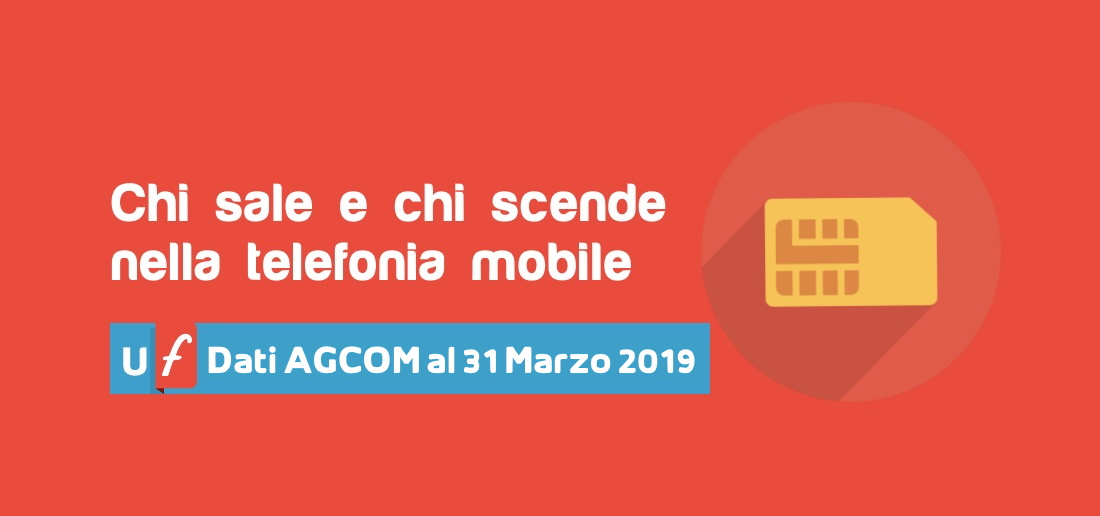 Telefonia mobile marzo 2019