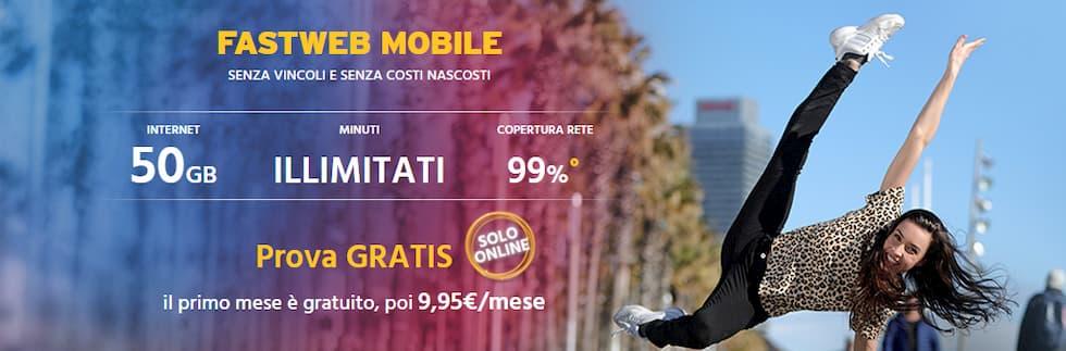 Offerta Fastweb Mobile luglio 2019