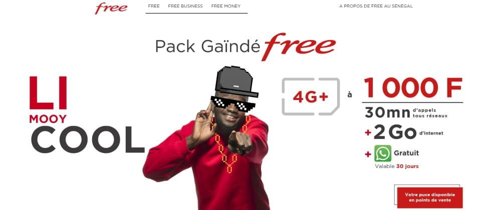 Offerta Free Senegal