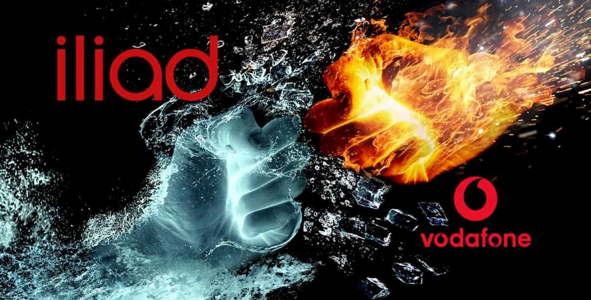 Vodafone vs iliad