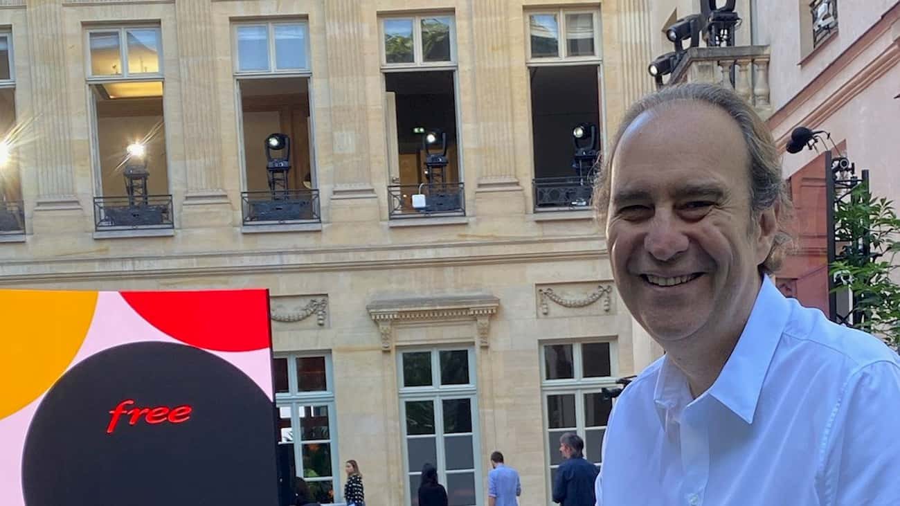 Xavier Niel lancio Freebox POP