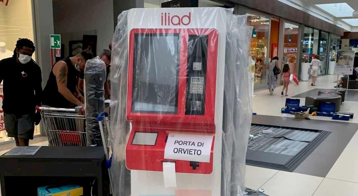 Installazione Simbox iliad Porte D'Orvieto