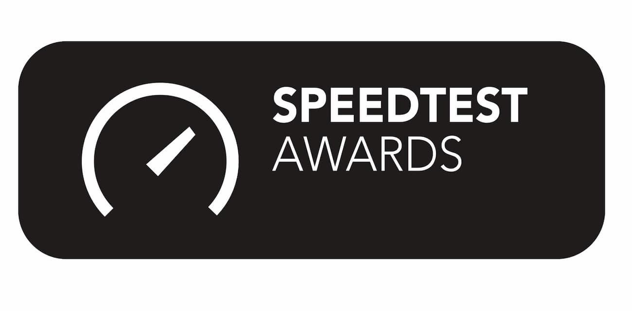 Speedtest Awards 2020