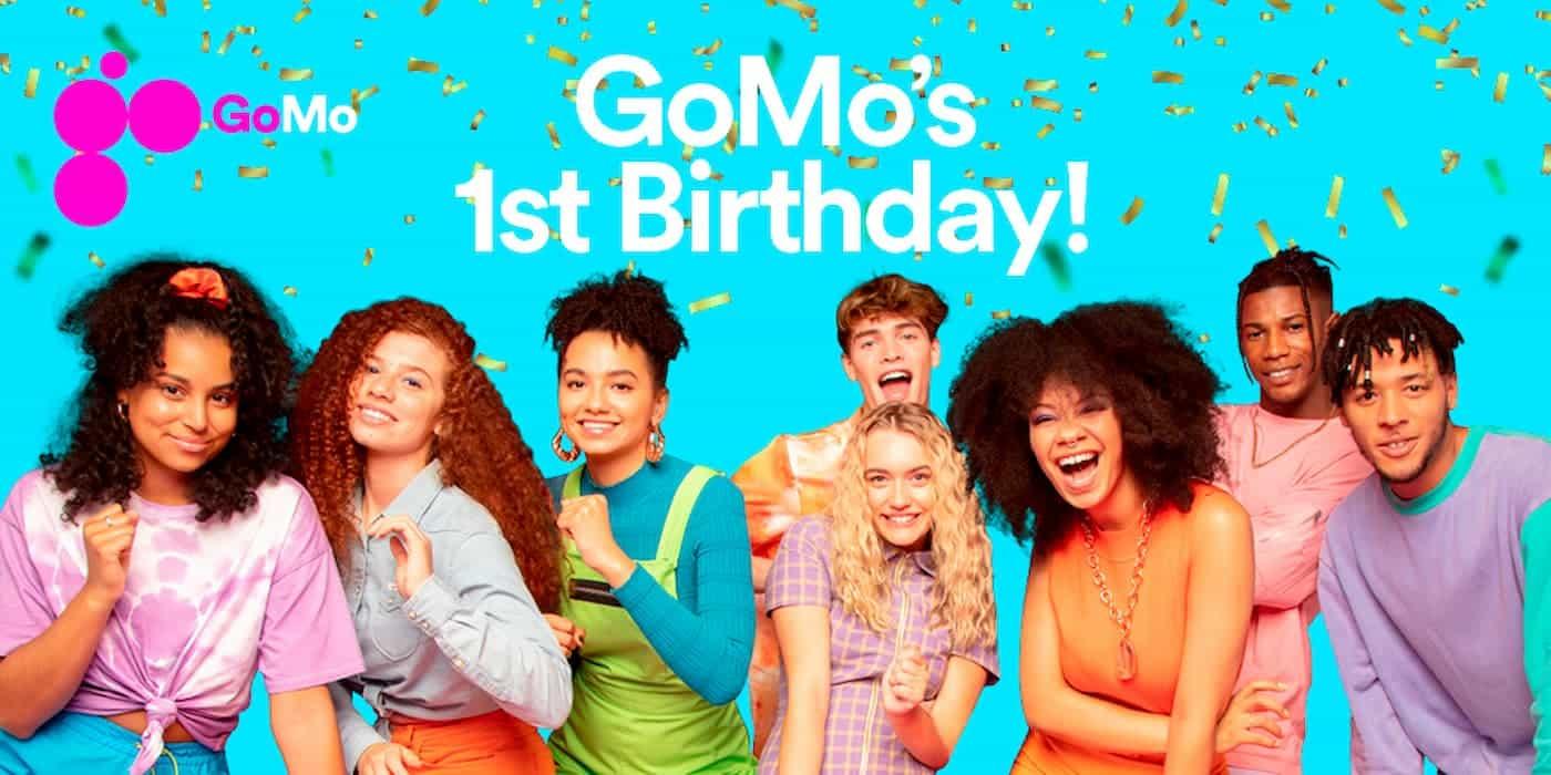 GoMo Ireland primo compleanno