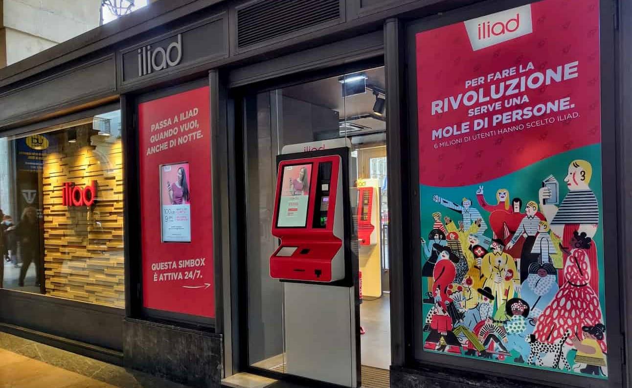 Simbox iliad H24 Torino