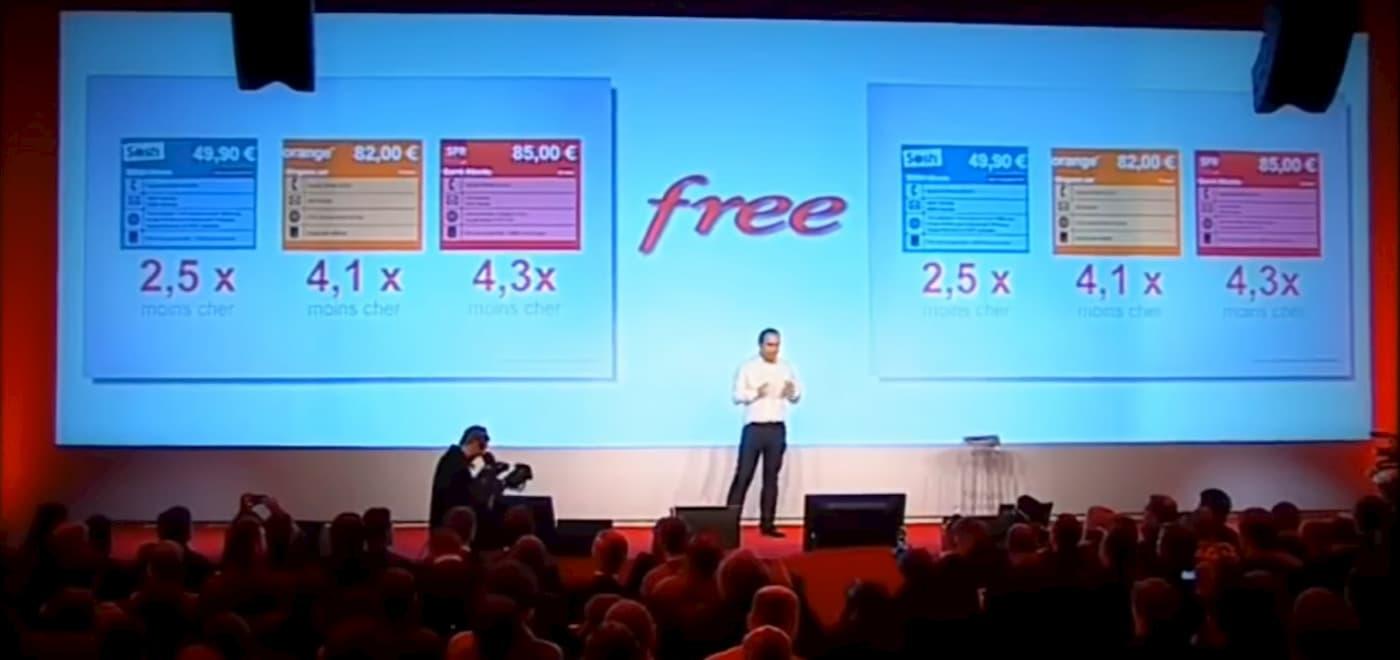 Lancio Free Mobile 2012