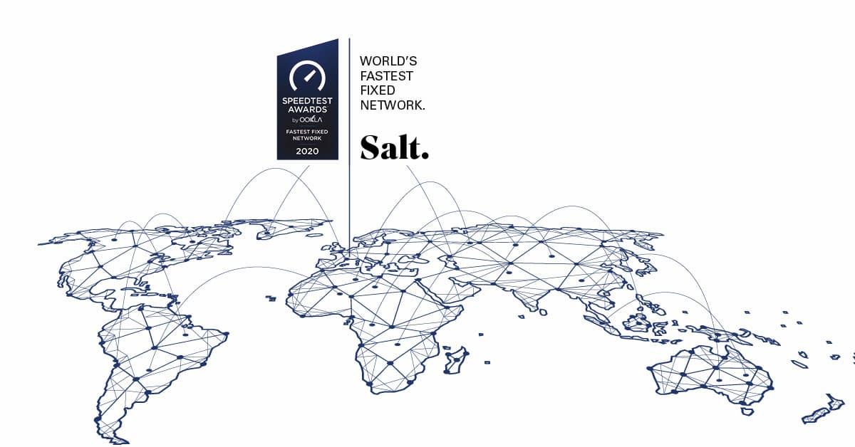 Salt connessione più veloce al mondo