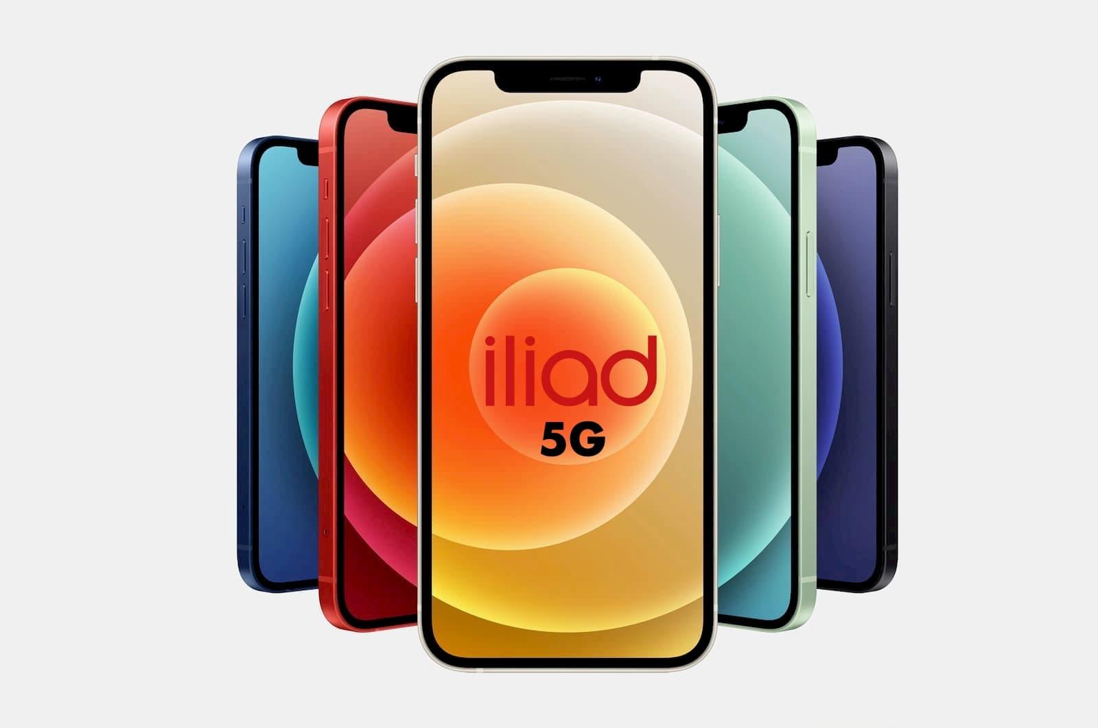iPhone 12 iliad 5G