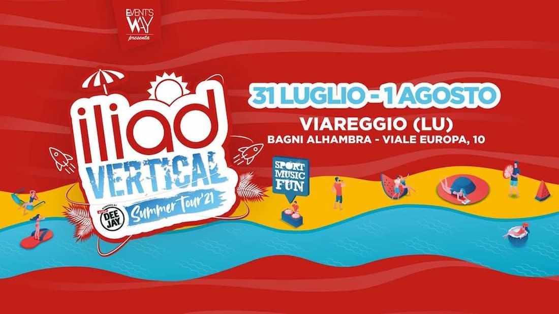 Viareggio iliad Vertical Summer Tour 2021